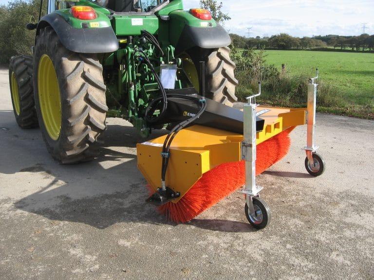 Agri'sweep Barredora hileradora